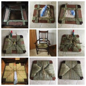 Cane+Rush chair seat restoration